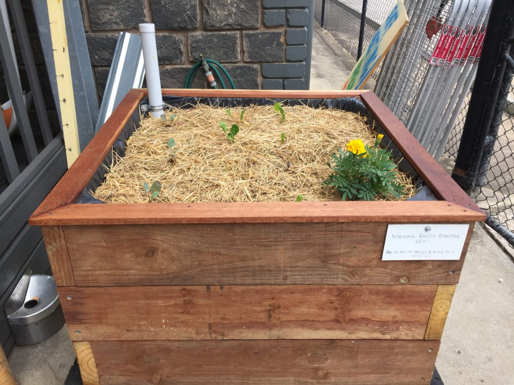 DIY Timber Wicking Garden Bed - North Geelong Building Supplies