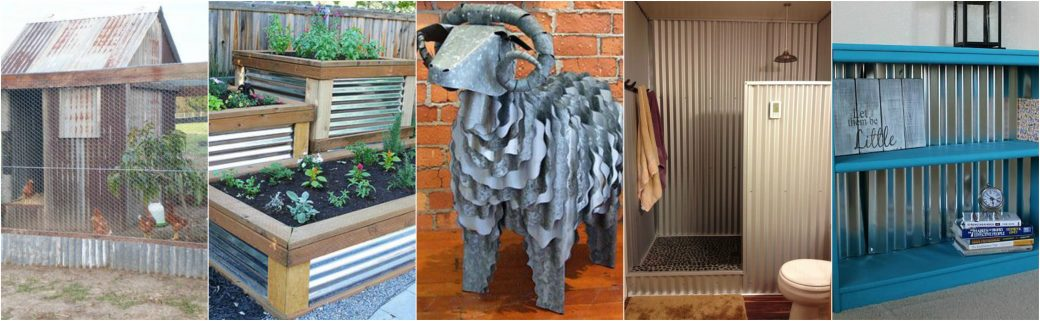Interesting uses for metal roofing